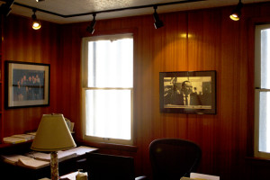 Frank Sinatra's former upstairs office at Ocean Way, looking virtually identical to the way he had it in the '60s.